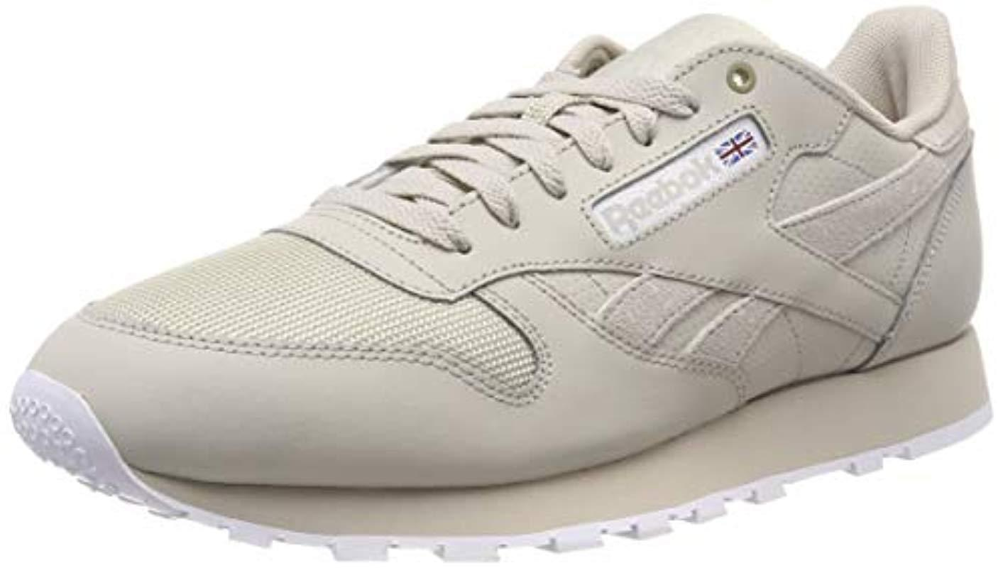 203a7f068aa Reebok Classic Leather Mu Low-top Sneakers in White for Men - Save ...