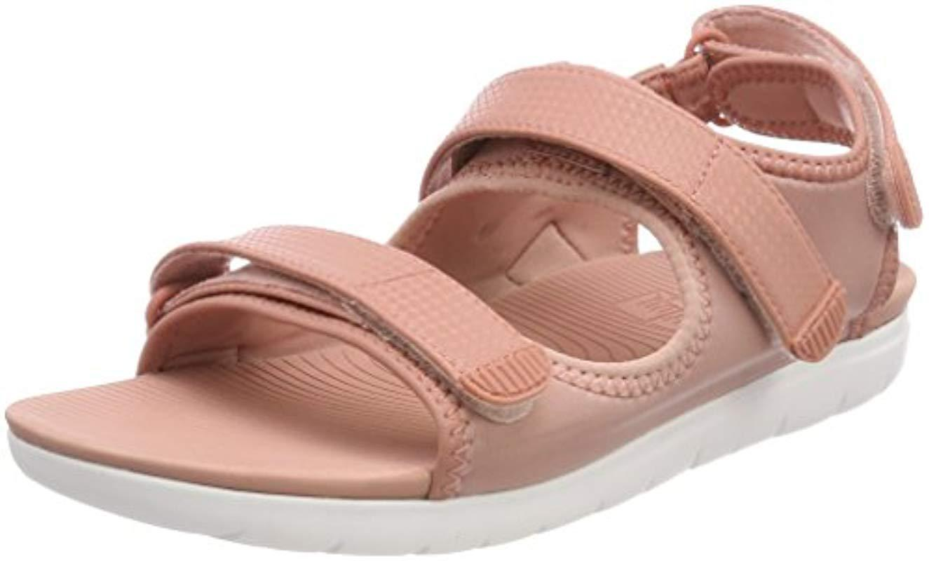 e5fcc69c63d6d Fitflop  s Neoflex Back-strap Open Toe Sandals in Pink - Lyst