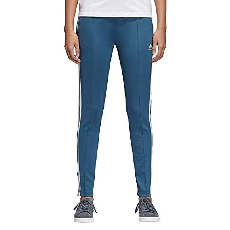 93b7b96b00f5 adidas Tracksuit Sports Jogger in Blue - Lyst