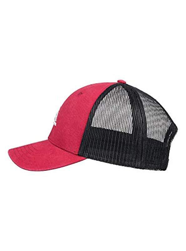 detailing 9f414 1ca8a ... order quiksilver multicolor grounder trucker hat for men lyst. view  fullscreen 032cd 92075