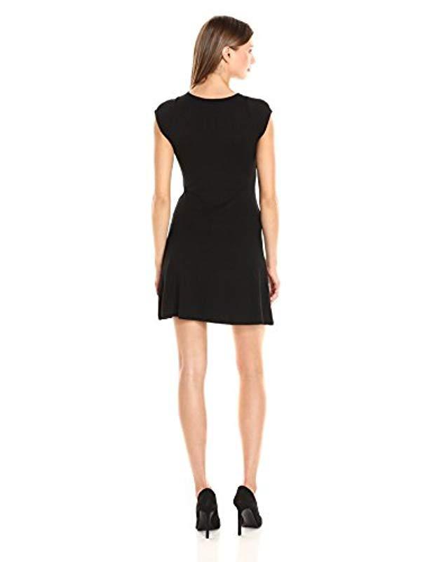 6520f382e3fa0 Desigual Vest encuer Casual Clothes in Black - Lyst