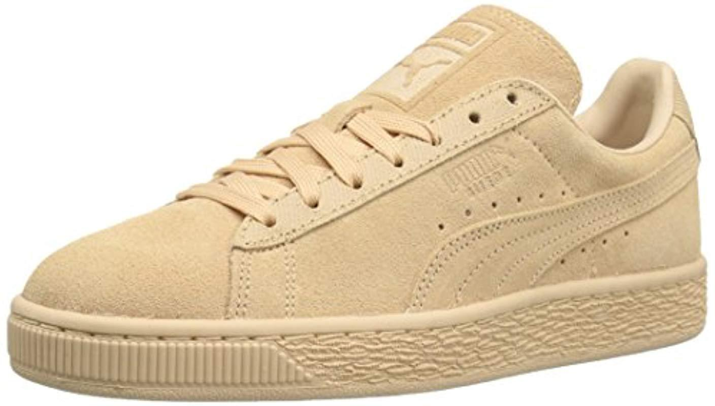 ee1224baa9e Lyst - Puma Suede Classic Tonal Fashion Sneaker in Natural for Men