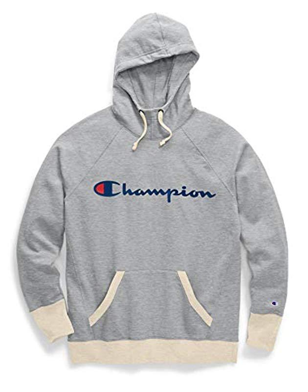 c56f6f05a5009 Lyst - Champion Plus Size Fleece Pullover Hoodie