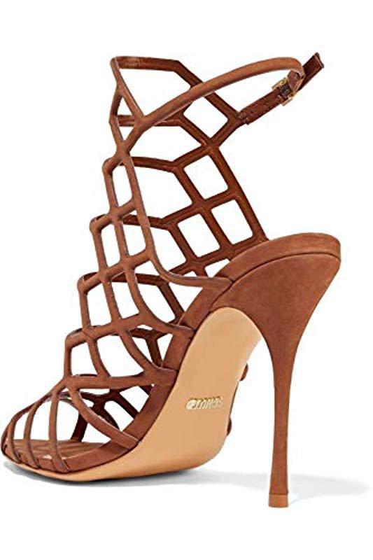 92aa1339e6b9 Schutz - Brown Juliana Dress Sandal - Lyst. View fullscreen