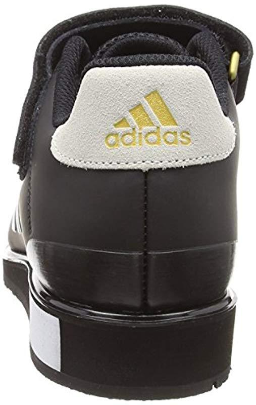 low priced 36268 75c16 Adidas - Black Power Perfect Iii. Fitness Shoes for Men - Lyst. View  fullscreen
