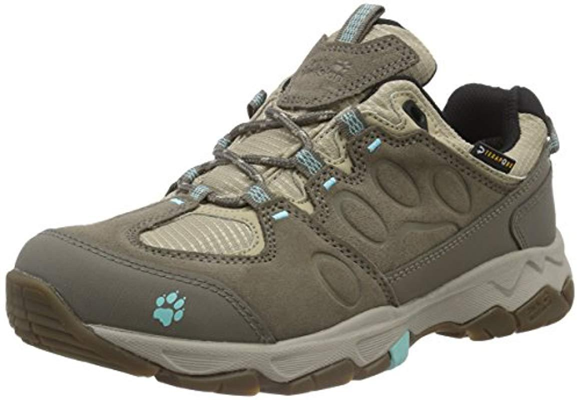 Jack Wolfskin  s Mtn Attack 5 Texapore W Low Rise Hiking Shoes - Lyst ccea98dbb7