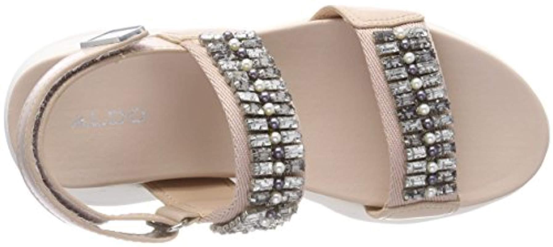 57341828dd2 ALDO - Pink Eloima Open Toe Sandals - Lyst. View fullscreen