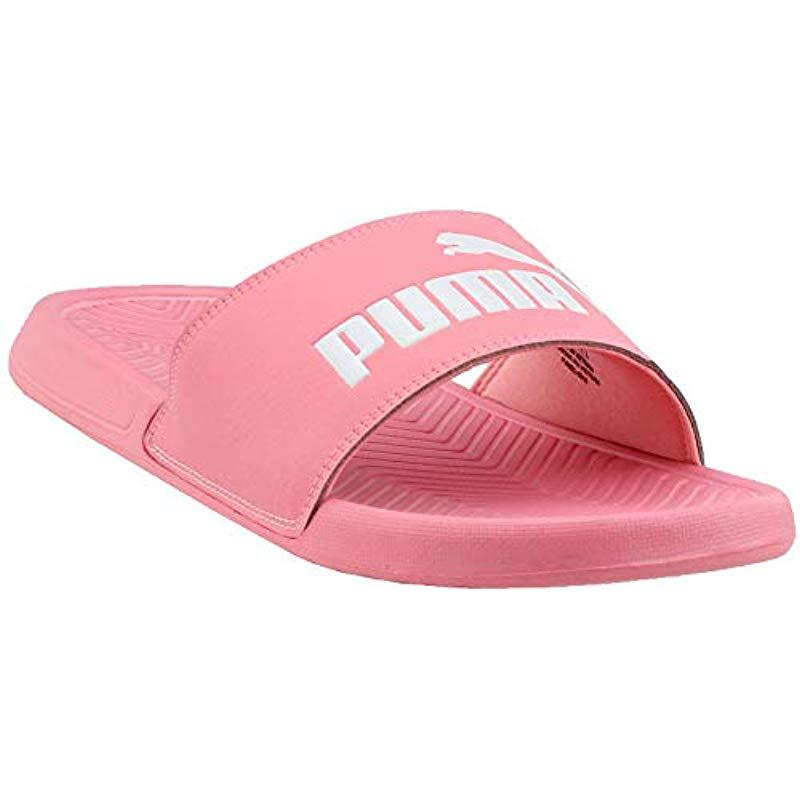 4234d018f766 PUMA. Women s Pink Popcat Slide Sandal
