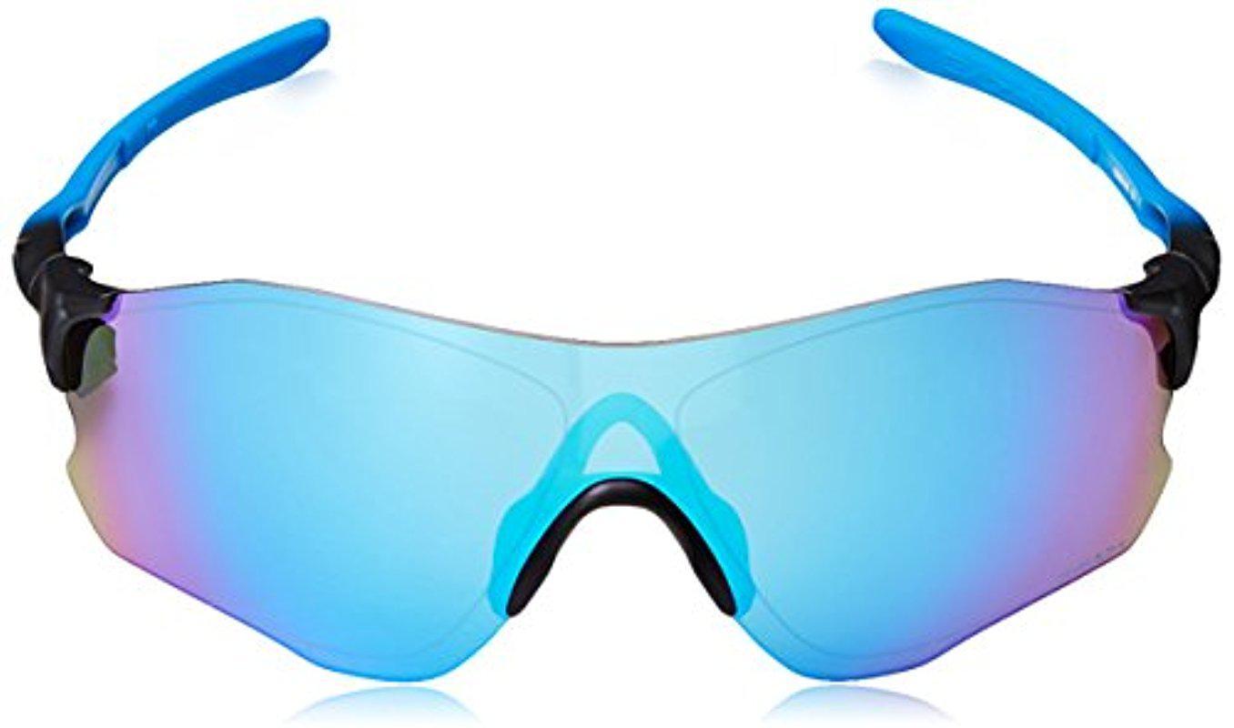 e10cb096dc Lyst - Oakley Evzero Path Polarized Iridium Rectangular Sunglasses ...