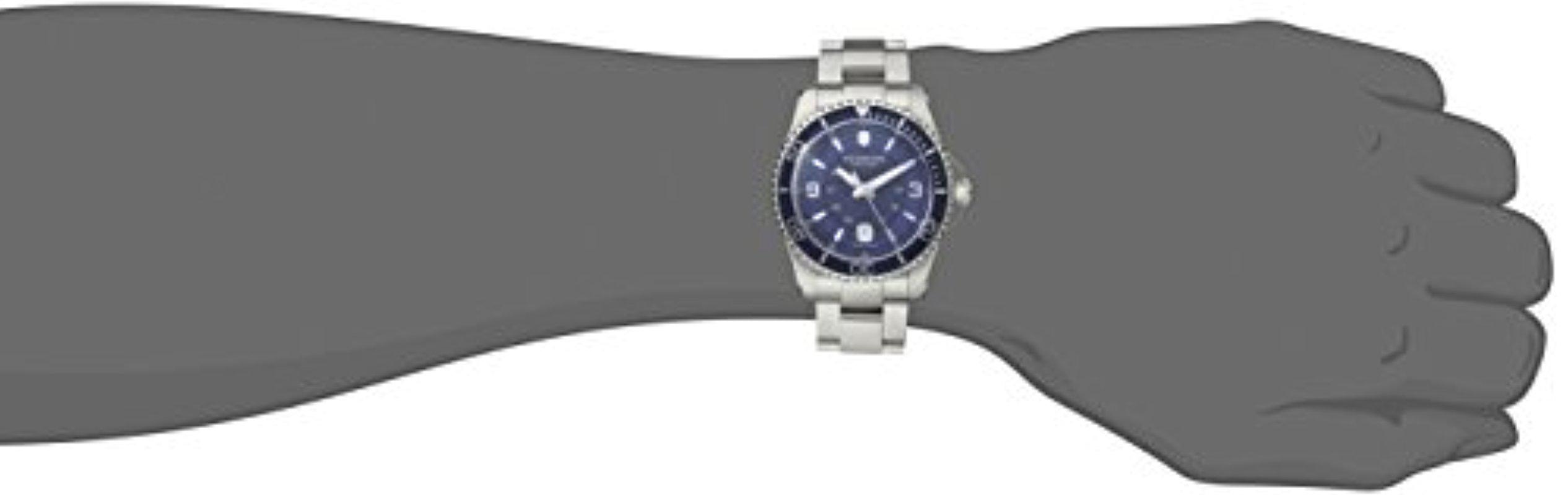 through dark beautiful glow watchshop numbers ladies silver the point clear blue good shine watch top along in of face com victorinox swiss which hands watches bezel maverick army dile with