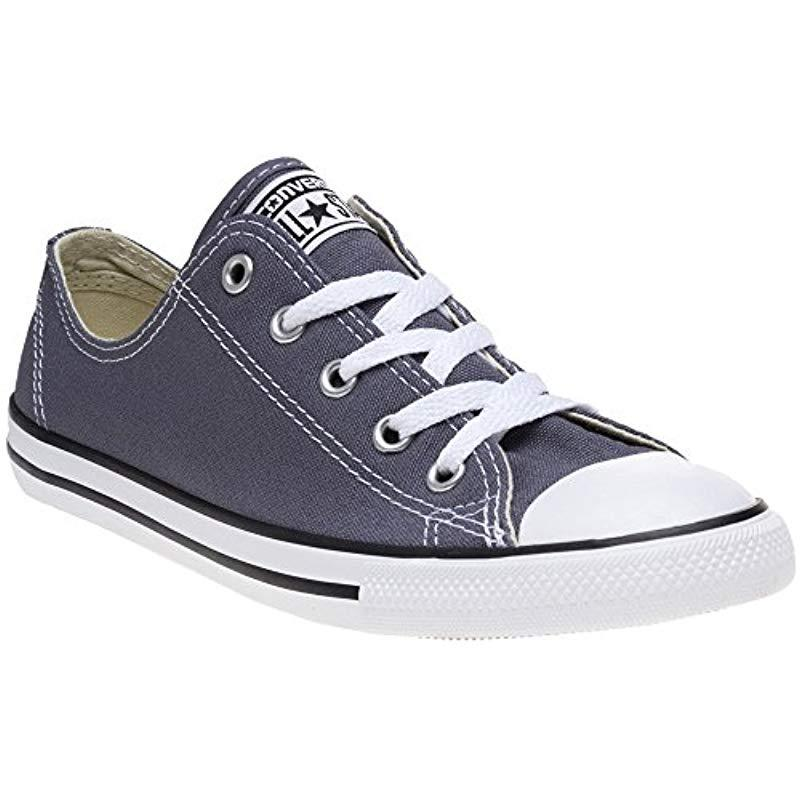 e69645cfa557 Converse Chuck Taylor Ctas Dainty Ox Canvas Fitness Shoes in Blue - Lyst