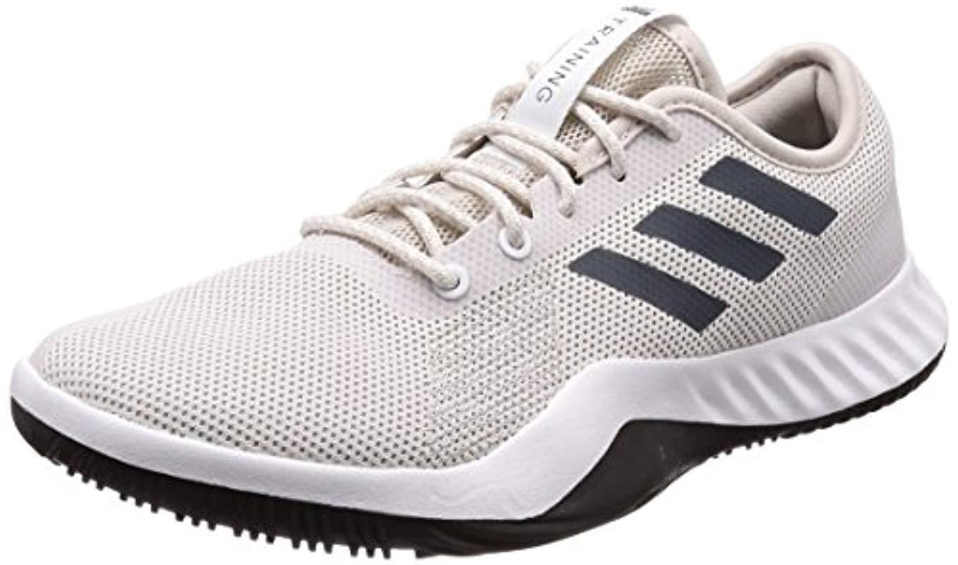 timeless design 518a2 5ce03 adidas. Mens White Crazytrain Lt Fitness Shoes