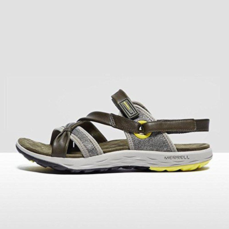 dc35f4004442 Lyst - Merrell Vesper Lattice Sandal