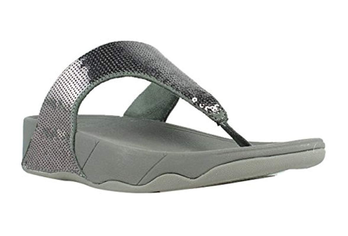 c0cfce669603c5 Lyst - Fitflop Electra Classic Sequin Flip-flop Sandal