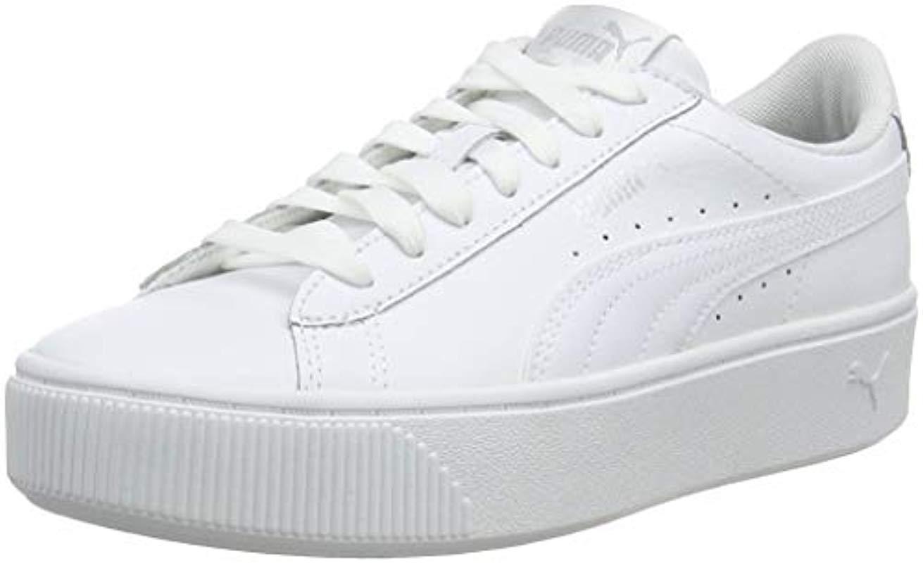c20529fb Vikky Stacked L, Zapatillas para Mujer PUMA de color Blanco - Lyst