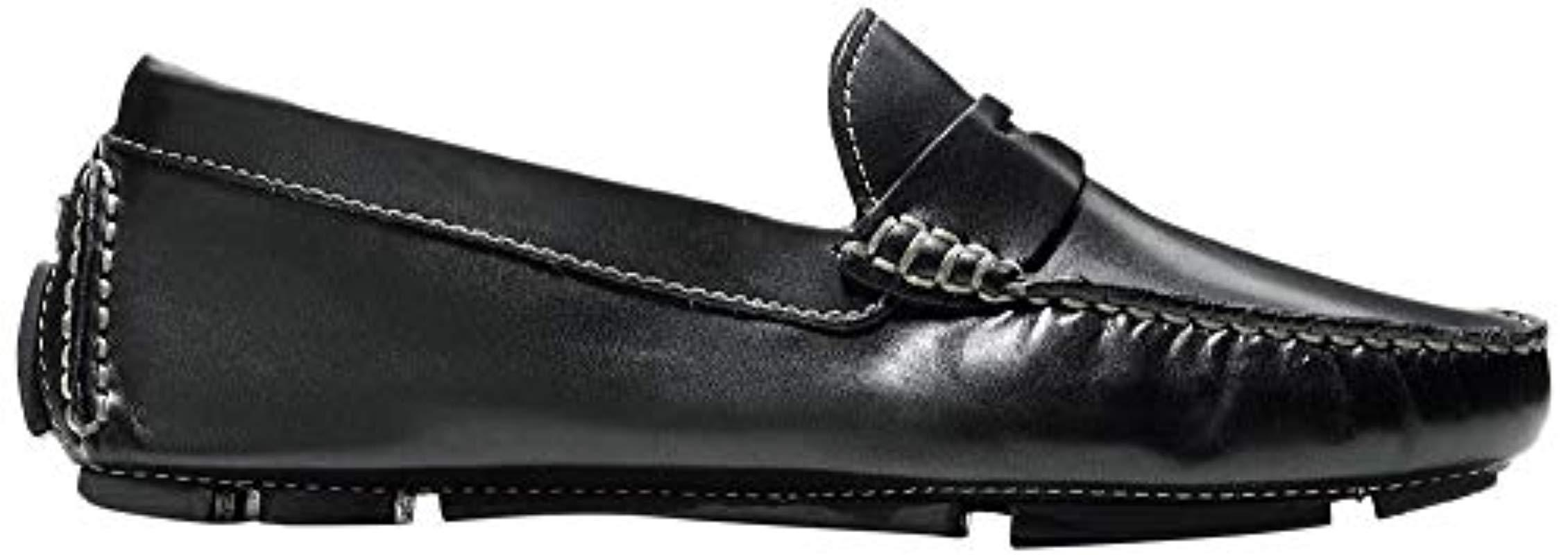 adebd3bb3c4 Lyst - Cole Haan Trillby Driver Penny Loafer in Black - Save 14.0%