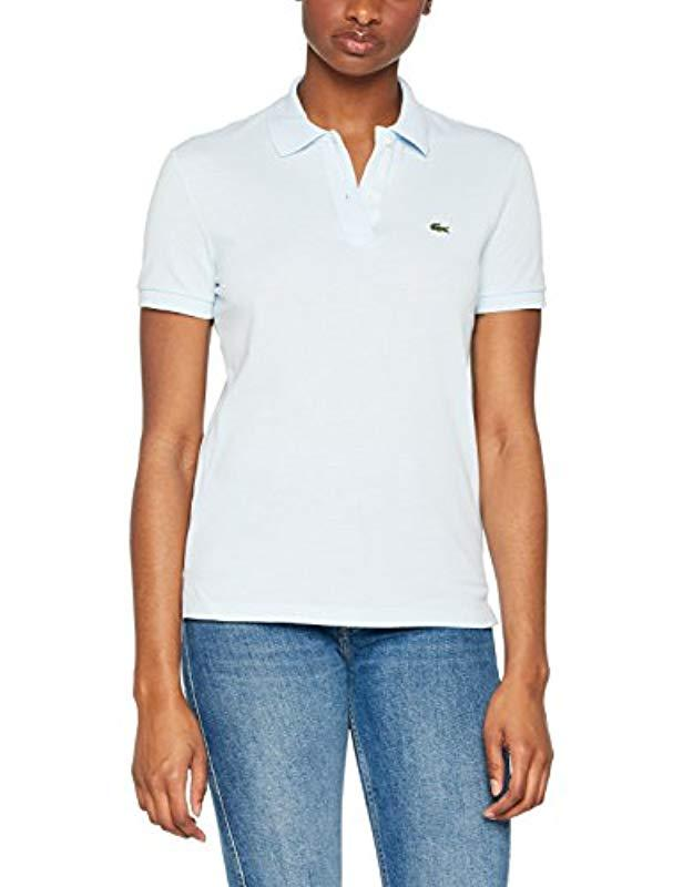 d3f5cadd Lacoste Pf7839 Short Sleeve Polo Shirt in Blue - Save 9% - Lyst