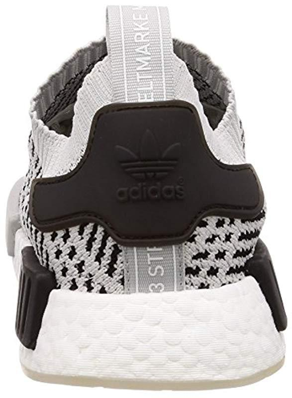 fdb9dce5d adidas  s Nmd r1 Stlt Primeknit Trainers in Gray for Men - Save 57 ...