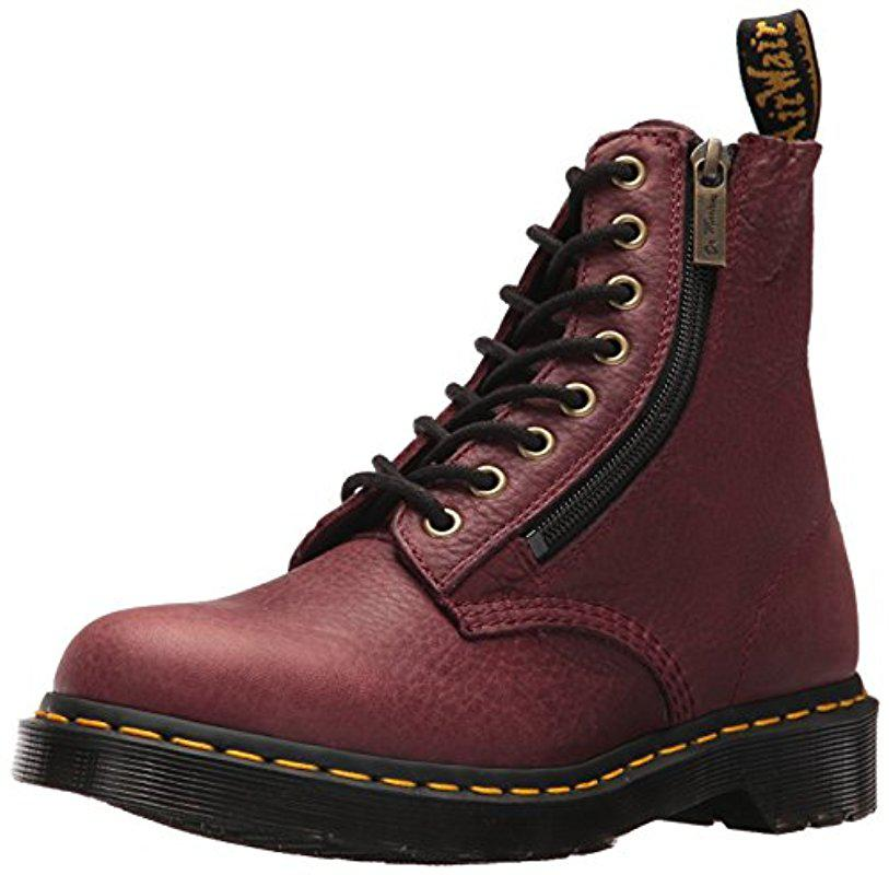 Women's Pascal w/Zip In Grizzly (Bovine) Leather Fashion Boot
