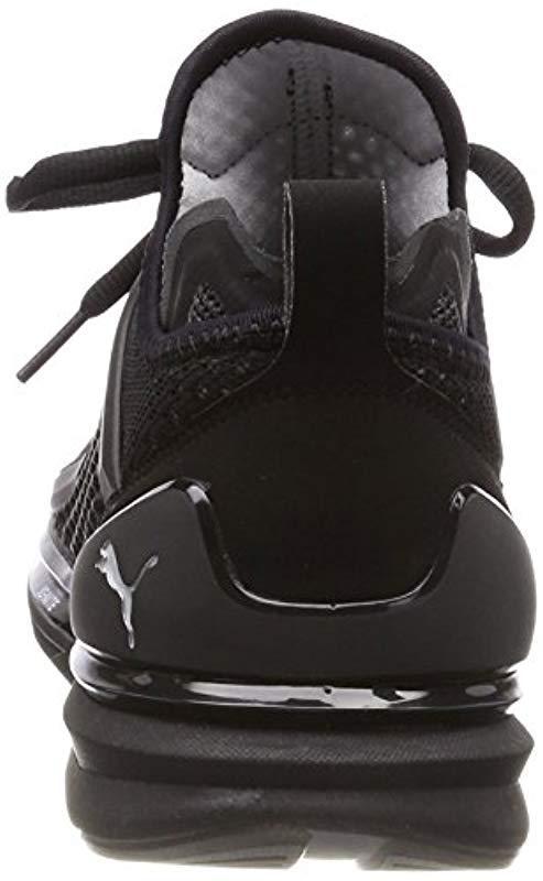 c261d2beda0 PUMA - Black  s Ignite Limitless Knit Cross Trainers for Men - Lyst. View  fullscreen