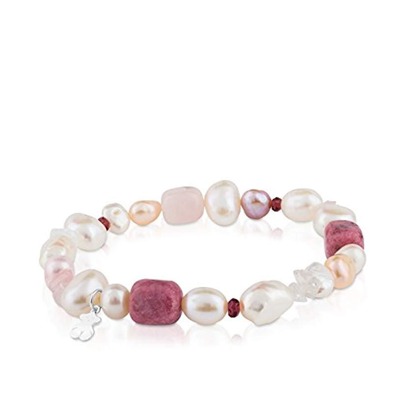 7d1f0ac97185 Pulsera Pearls en plata de primera ley