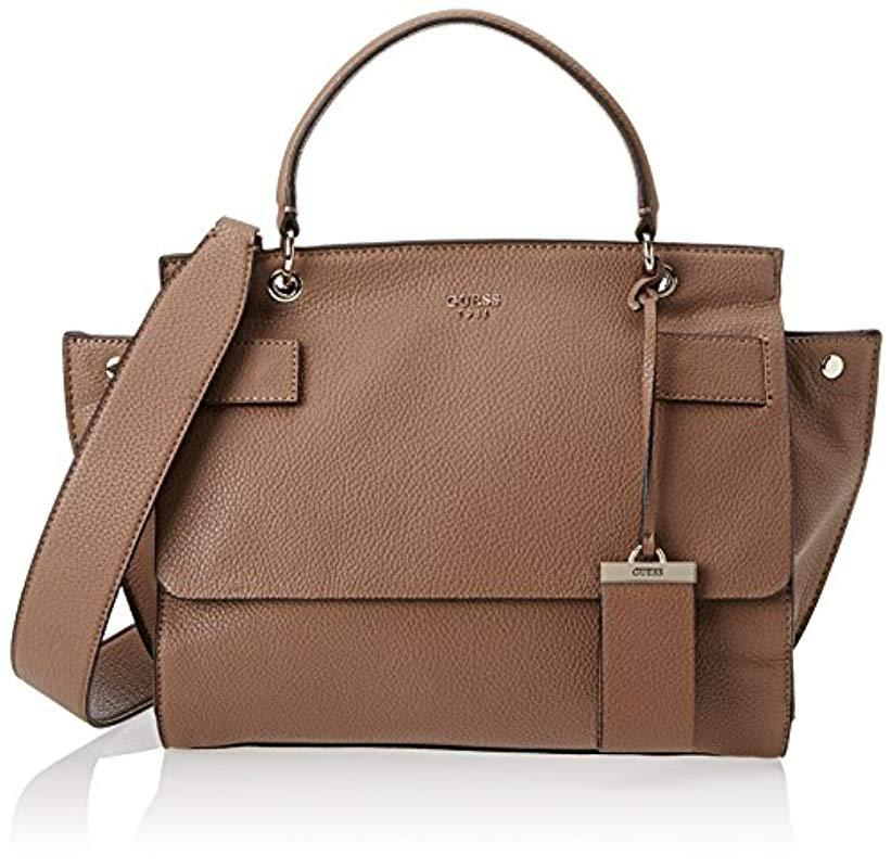 Guess  s Hwvg6781190 Top-handle Bag in Brown - Lyst 6aa5169cca340