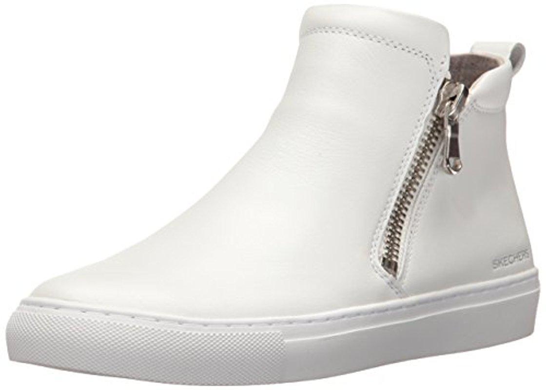 Skechers. Women's White Vaso-bota Fashion Sneaker