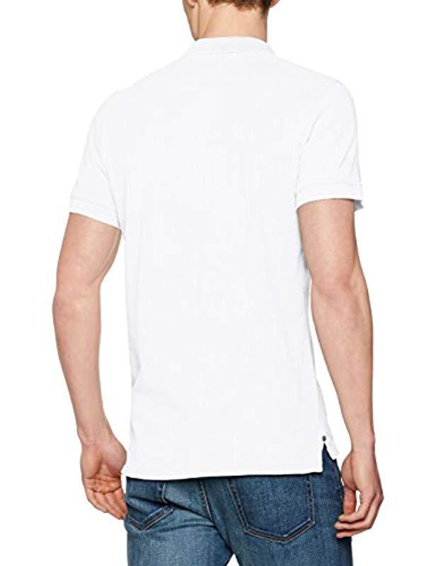 f9664c71 Pepe Jeans Yew Polo Shirt in White for Men - Lyst