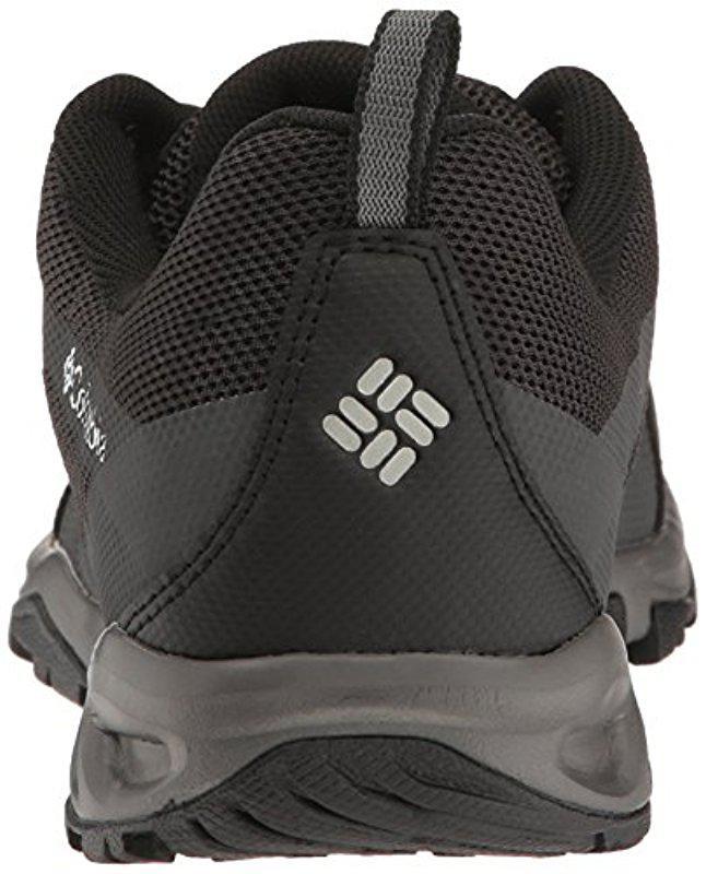 40c6b85489f8 Lyst - Columbia Vapor Vent Fashion Sneaker in Black for Men - Save  10.112359550561791%