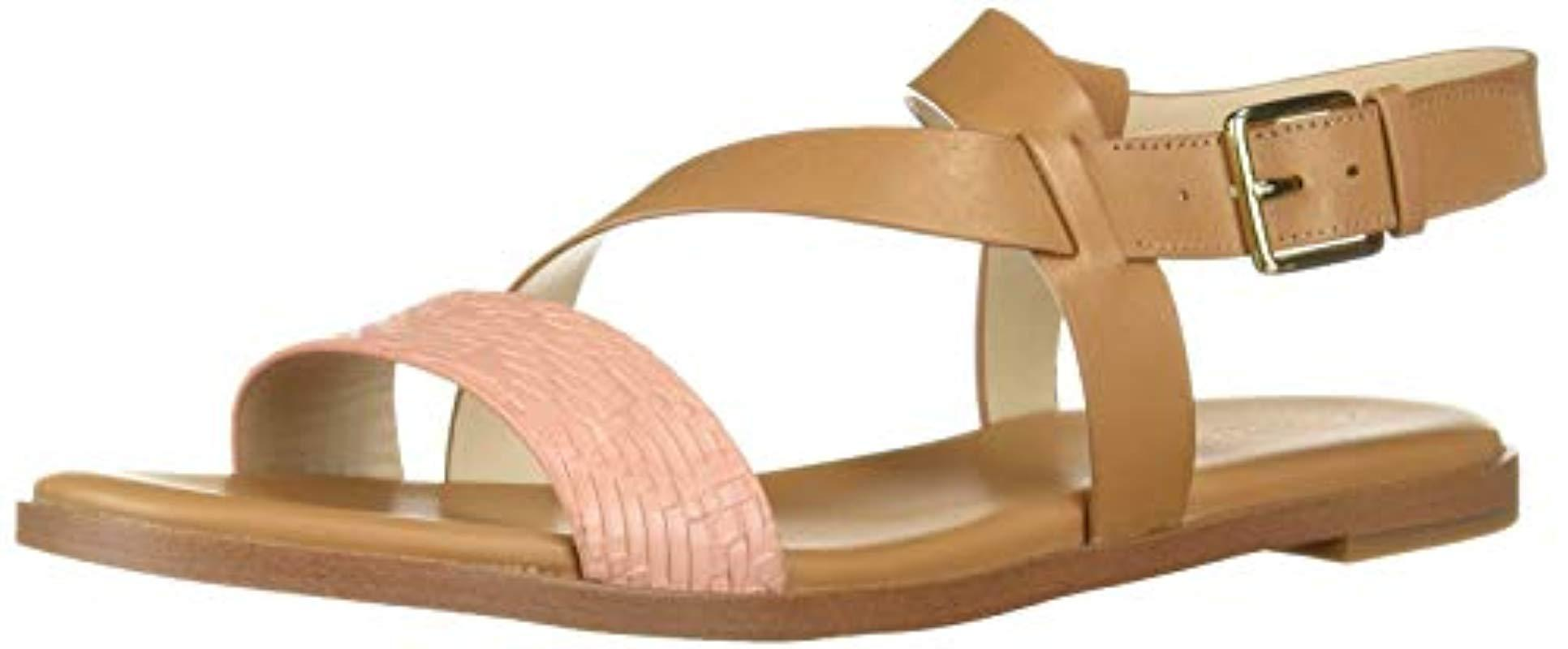 5fd514674cab Lyst - Cole Haan Findra Strappy Sandal Ii Flat - Save 12%