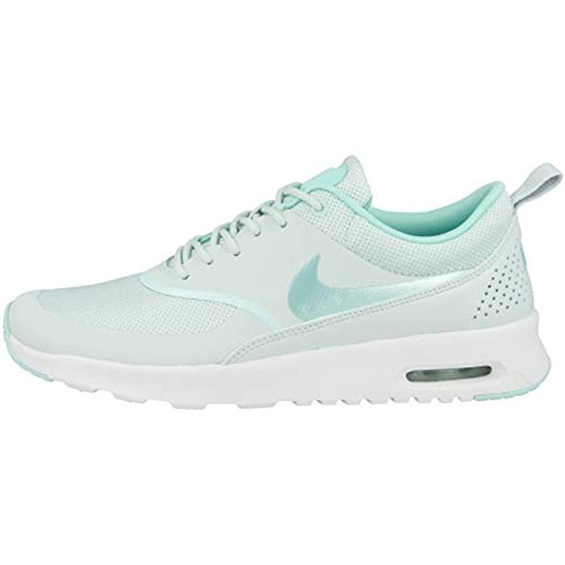 Nike Air Max Thea Trainers in Blue Lyst