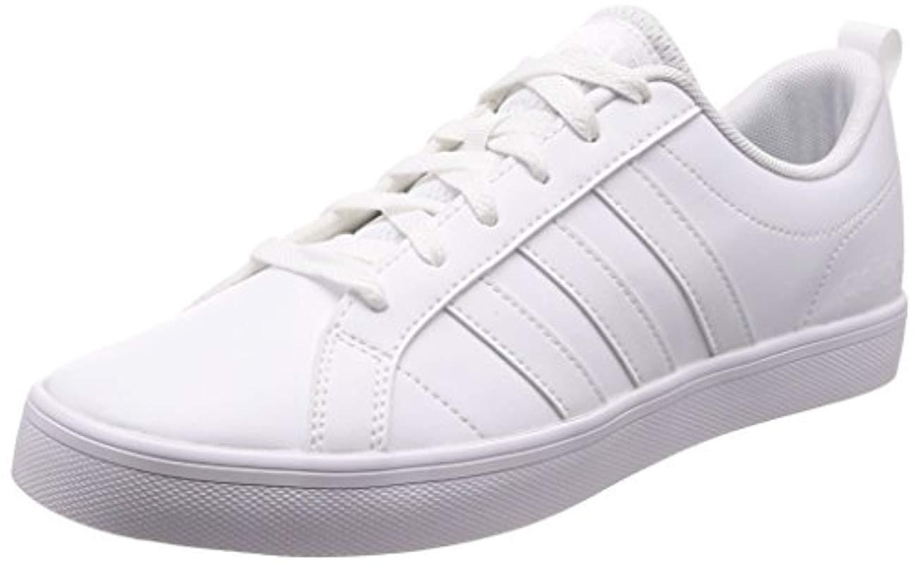 adidas  s Vs Pace Gymnastics Shoes in White for Men - Lyst 5540e1a30