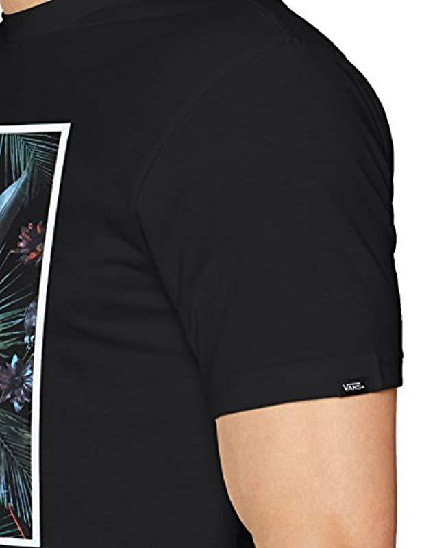 ba790bd4e2 Vans - Black Print Box T-shirt for Men - Lyst. View fullscreen