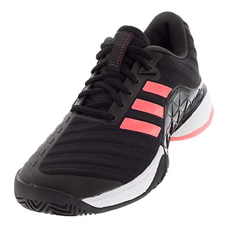 best service fd4b8 a8d23 Lyst - Adidas Barricade 2018 Tennis Shoe in Black for Men