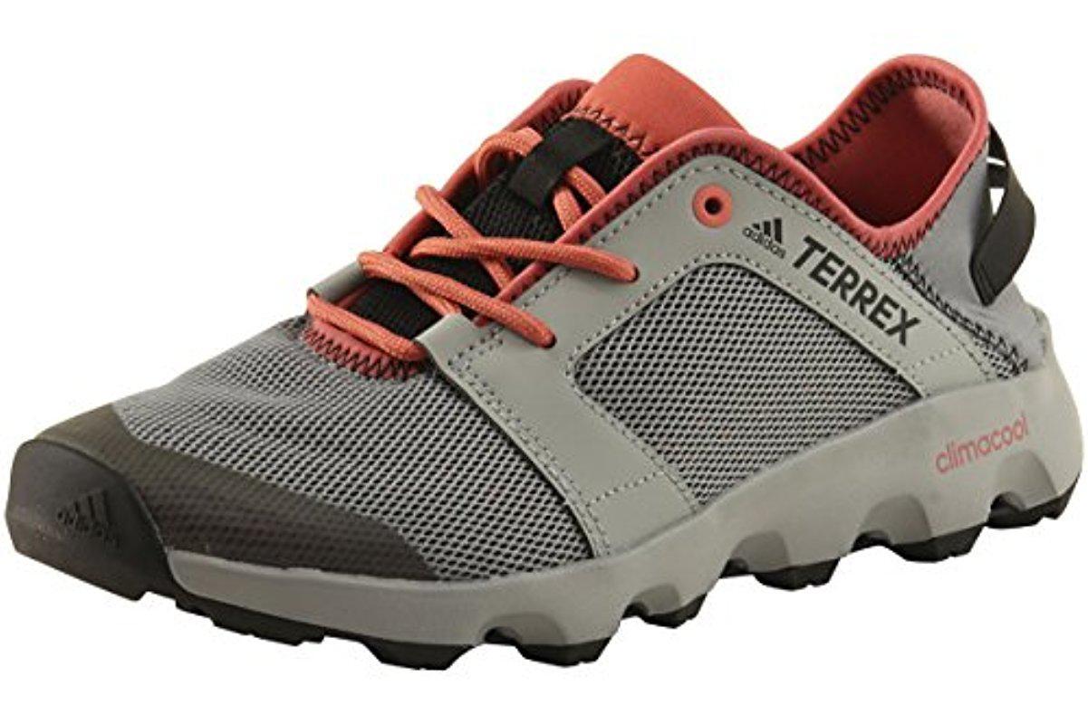 another chance 4e106 9a3dc adidas Originals. Women s Gray Terrex Climacool Voyager Sleek Water Shoe