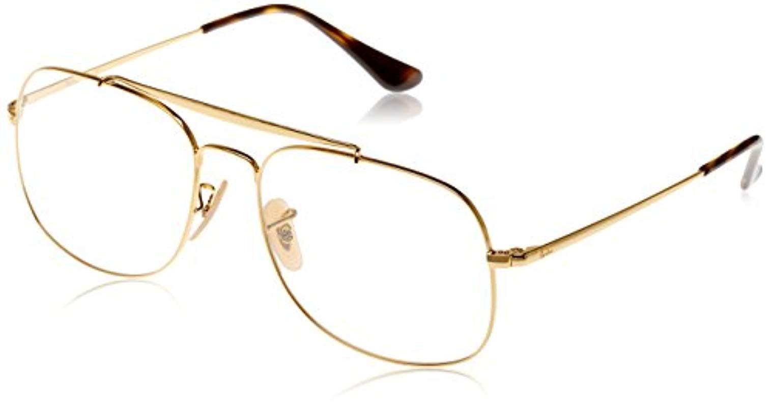 4ee120a9b64 Ray-Ban. Women s Metallic 0rx 6389 2500 57 Optical Frames
