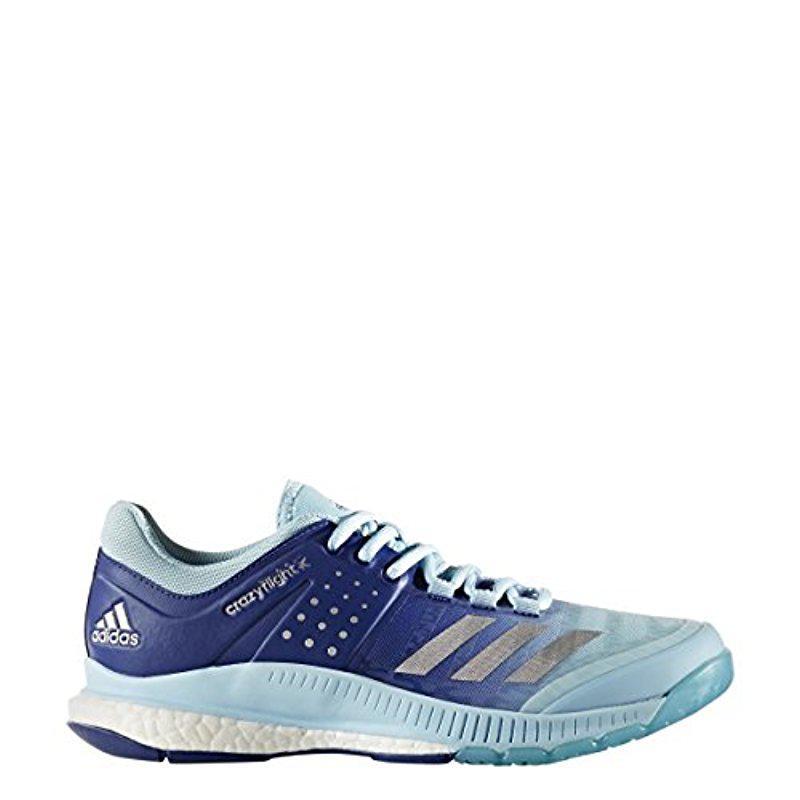 1c9e2a4dd54c Lyst - adidas Crazyflight X Volleyball Shoe in Blue