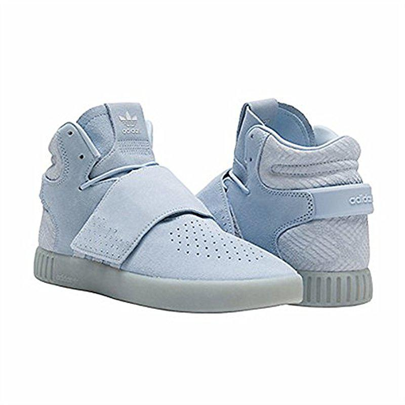 lyst adidas originali tubulare invasore cinghia scarpe blu salva il 36%