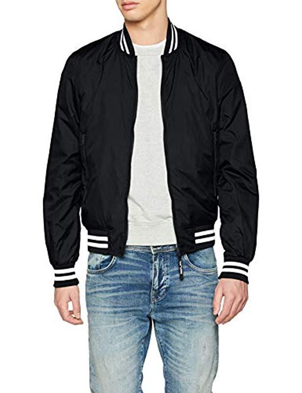 Replay Jacket in Black for Men - Lyst 405519d66f5