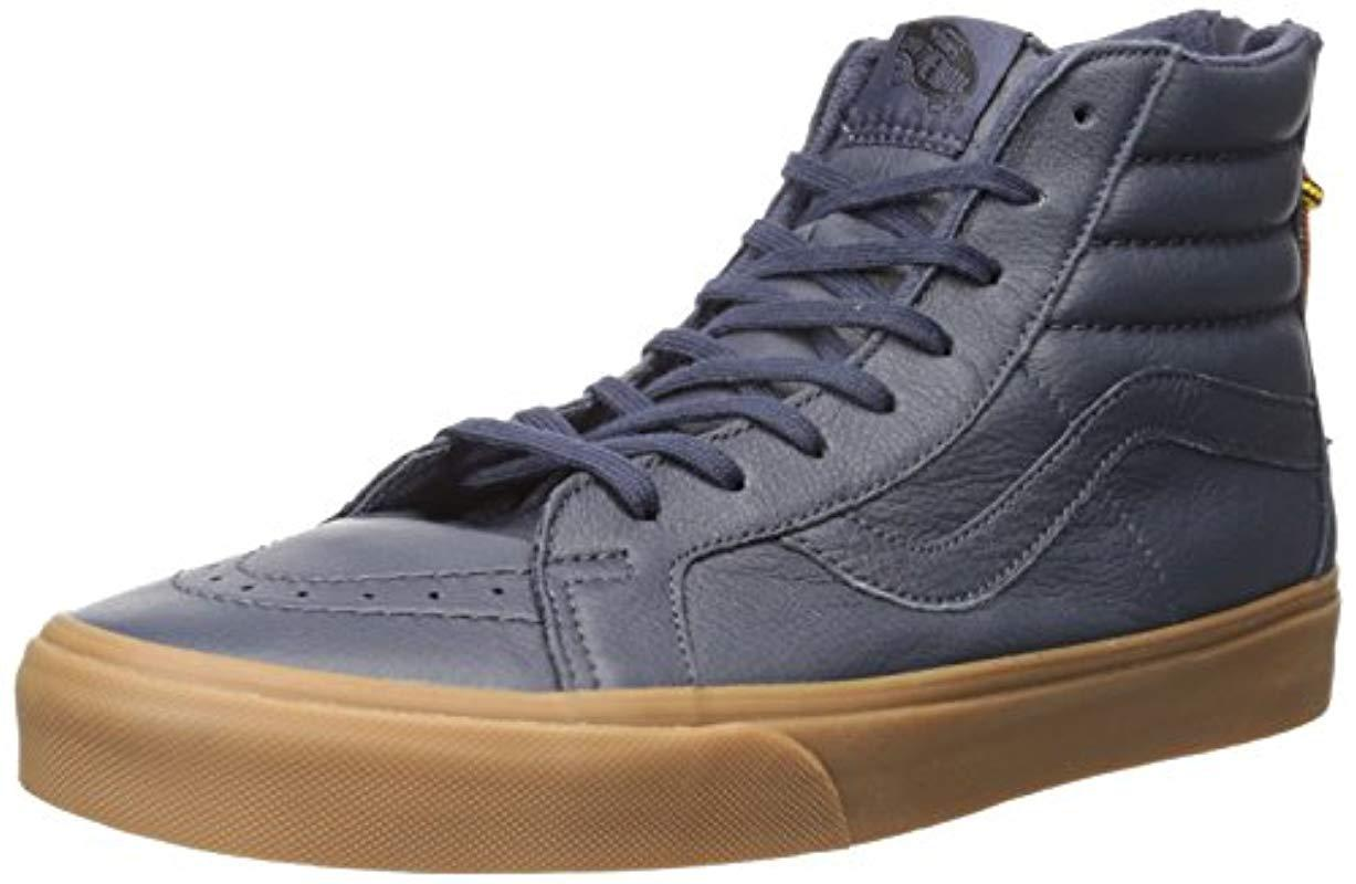 9f718cdf5c Vans Sk8 Slim Zip Hi-top Sneakers in Blue for Men - Lyst