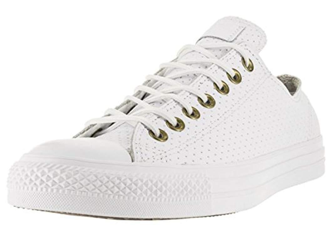 Lyst - Converse Chuck Taylor All Star Core Ox in White for Men e0e7805ad