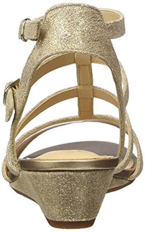 aec1c3a56 Clarks - Metallic  s Parram Spice Gladiator Sandals - Lyst. View fullscreen