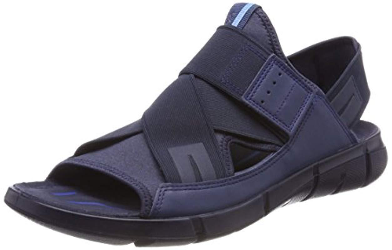 4a26c3c06ea3 Ecco Intrinsic Open Toe Sandals in Blue for Men - Lyst