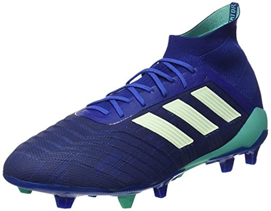8cf24e1191f4 adidas   s Predator 18.1 Fg Football Boots in Blue for Men - Lyst