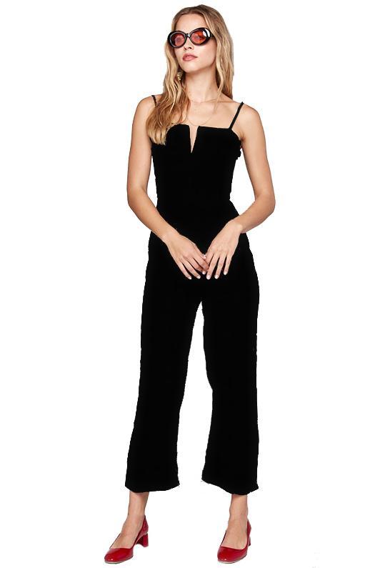 6338b2aa6730 Lyst - Flynn Skye Parker Jumpsuit In Black in Black