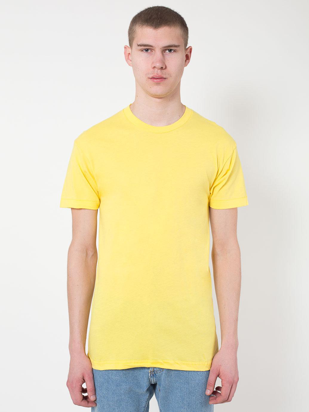 American apparel sheer jersey crewneck 39 summer 39 t shirt in for American apparel mesh shirt