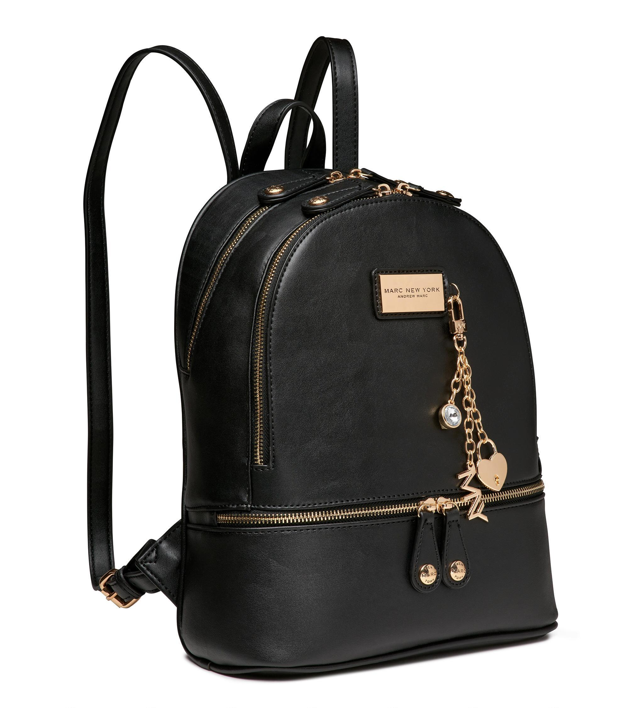 Lyst Andrew Marc Crosby Backpack In Metallic