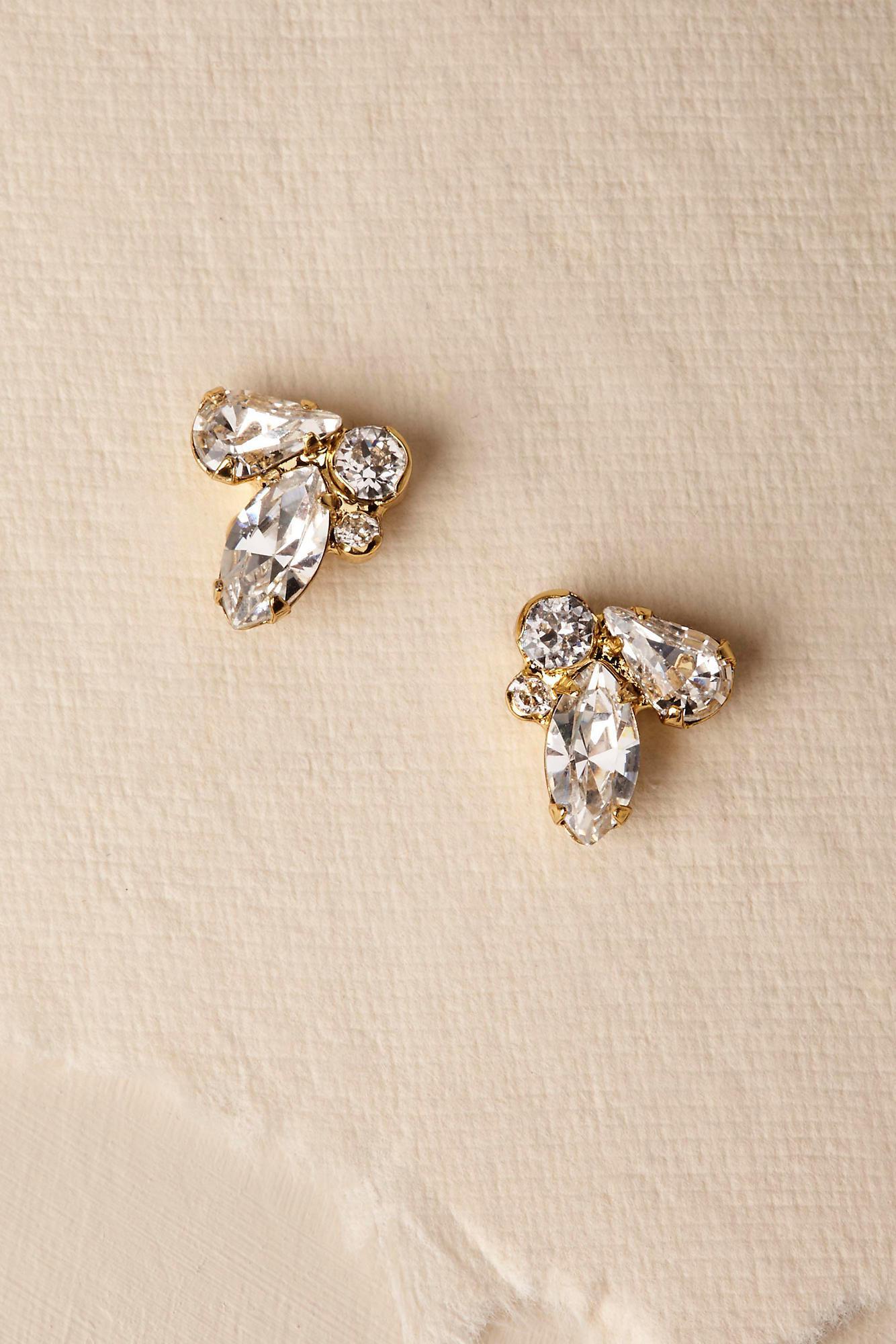 Anthropologie Pax Pearl Stud Earrings 5YPPH