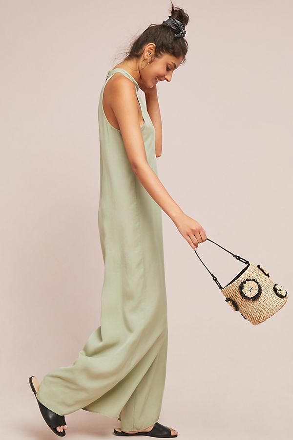 67f9fac7ea3 Cloth   Stone Marfa Jumpsuit in Green - Lyst