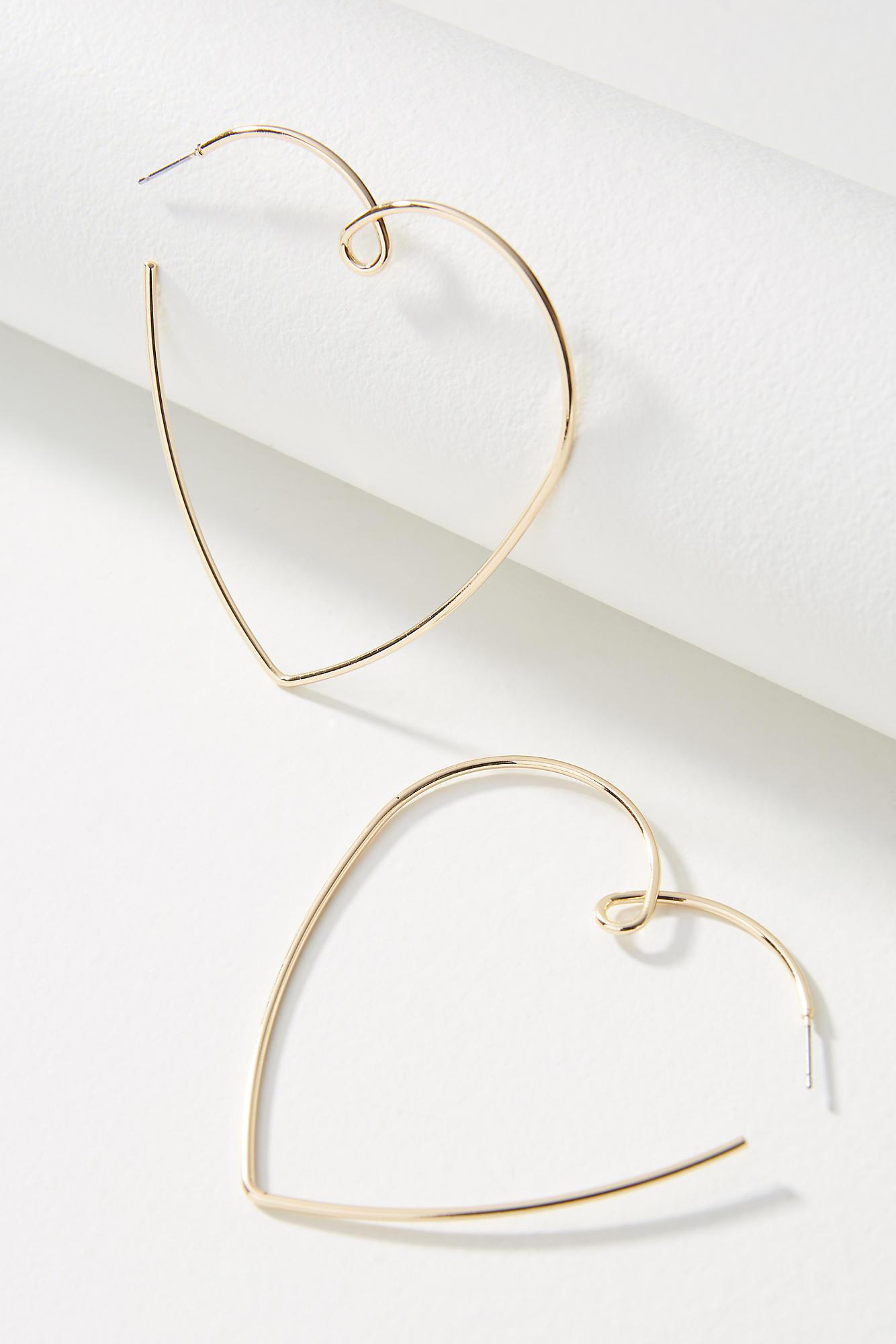 Anthropologie Pia Hoop Earrings yVN62A
